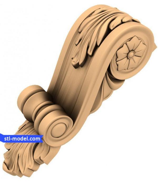 "Corbel ""Corbel #92"" | STL - 3D model for CNC"