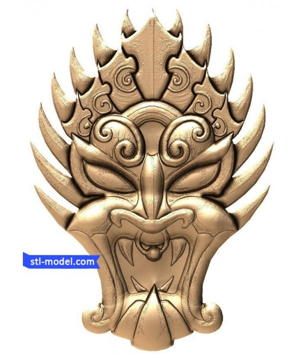 "Bas-relief ""Mask #2"" 