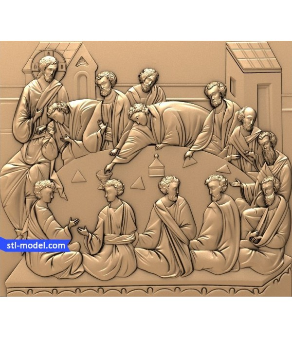 "Icon ""last Supper #3"" 