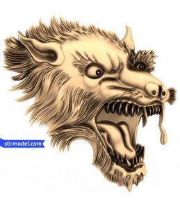 Wolf head (3)