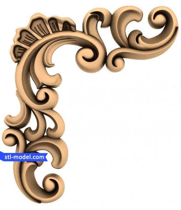 "Decor ""decor #76""   STL - 3D model for CNC"