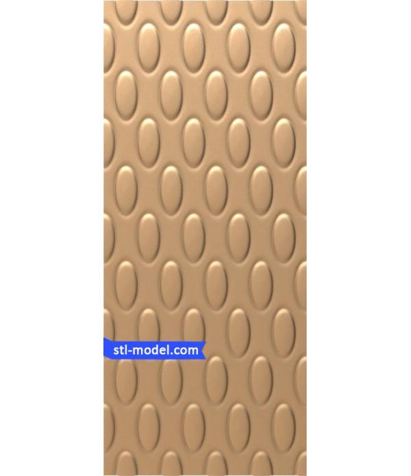 "Panel ""Panel #27"" | STL - 3D model for CNC"