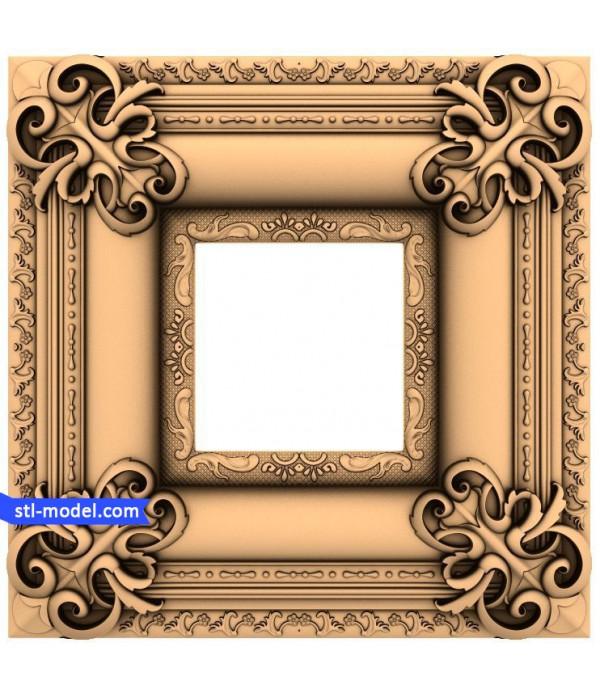"Frame ""Frame #29"" | STL - 3D model for CNC"