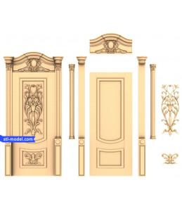 """Door """"Door #29""""   STL - 3D mod..."""