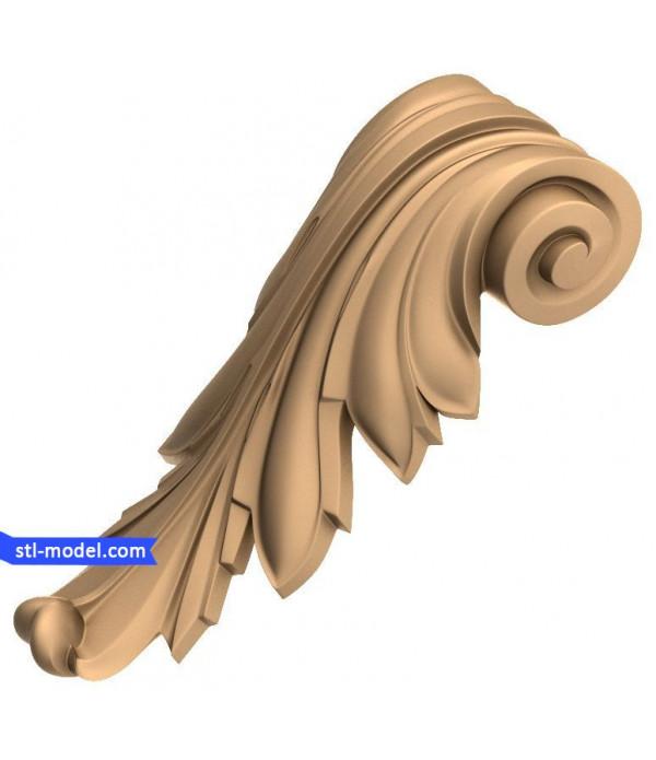 "Corbel ""Corbel #61"" | STL - 3D model for CNC"
