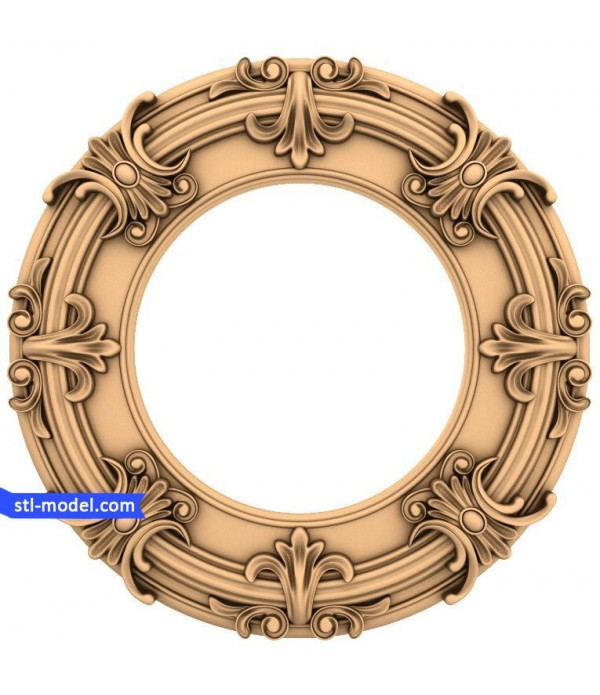 "Frame ""Frame #156""   STL - 3D model for CNC"