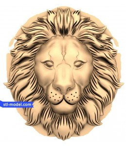 Lion head №15