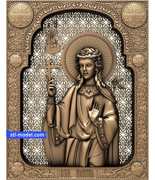 "Icon ""Holy Martyr of Love"" 