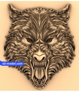 Wolf head (1)