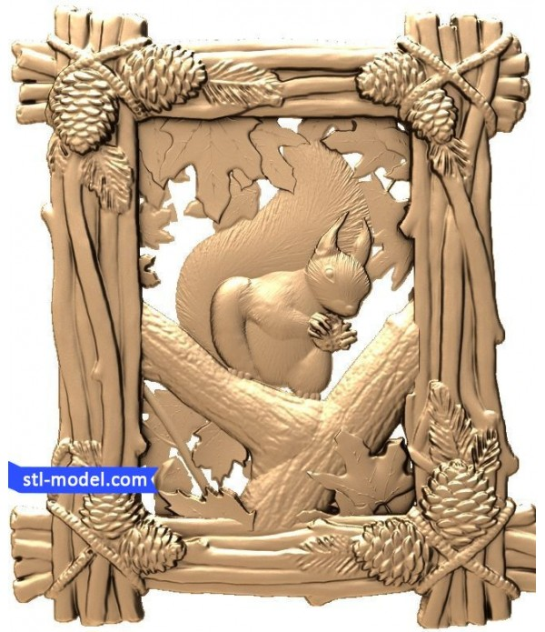 "Bas-relief ""Protein"" 