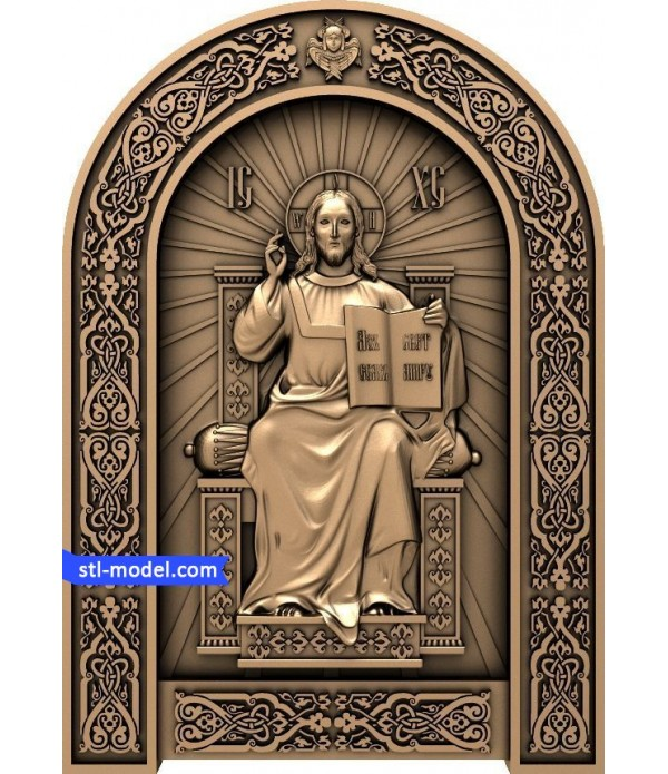 "Icon ""Saviour on the throne"" 
