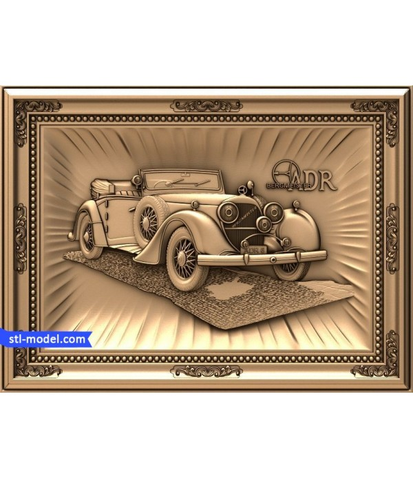 "Bas-relief ""Mercedes"" 