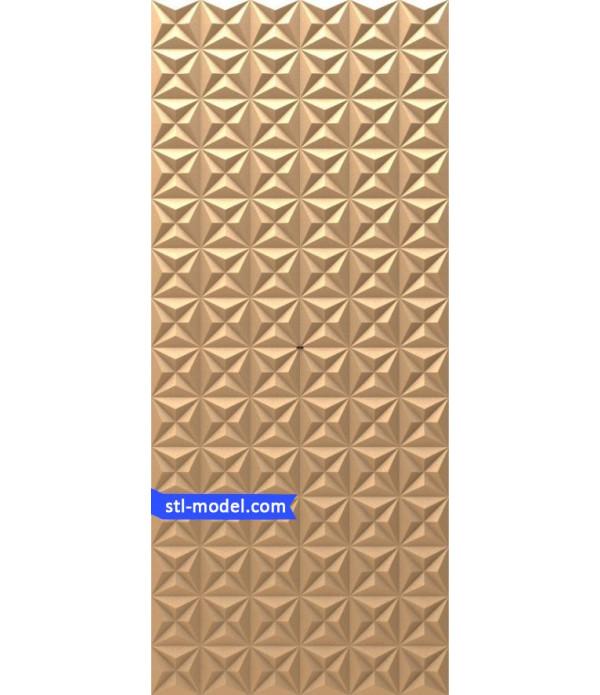 "Panel ""Panel #26"" | STL - 3D model for CNC"