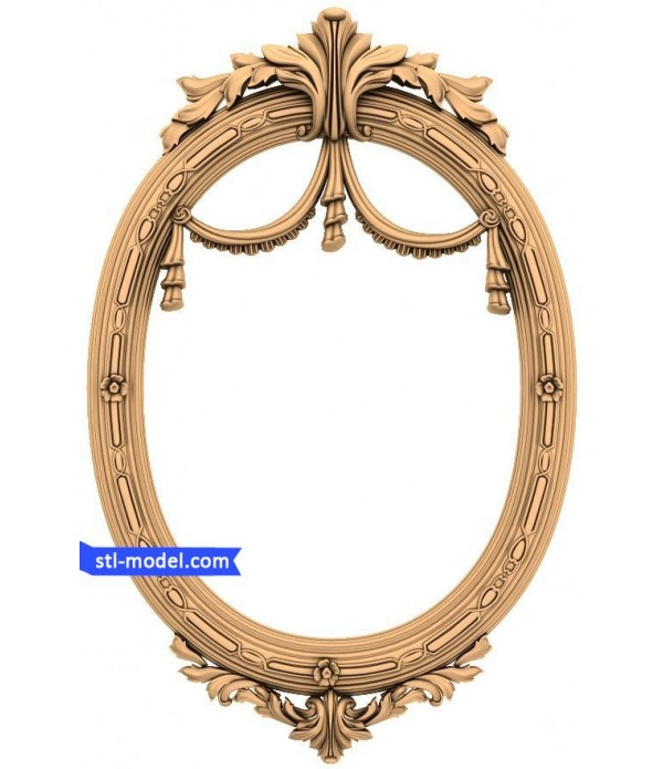 "Frame ""Frame #63"" | STL - 3D model for CNC"