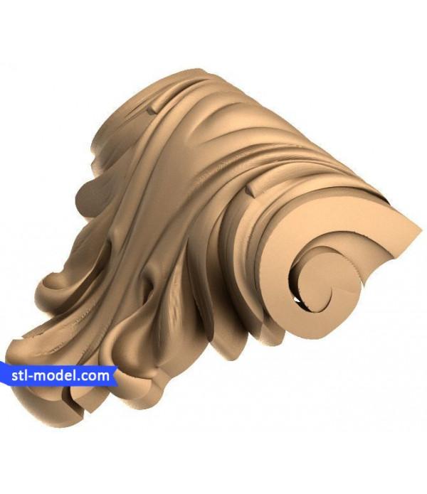 "Corbel ""Corbel #73"" | STL - 3D model for CNC"
