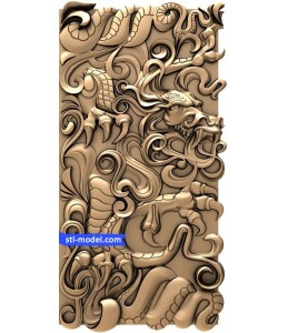 "Backgammon ""Dragon #1"" 