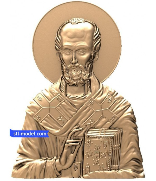 "Icon ""Nicholas the Wonderworker #6"" 