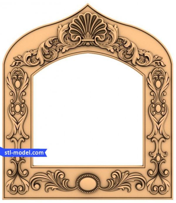 "Frame ""Frame #74""   STL - 3D model for CNC"