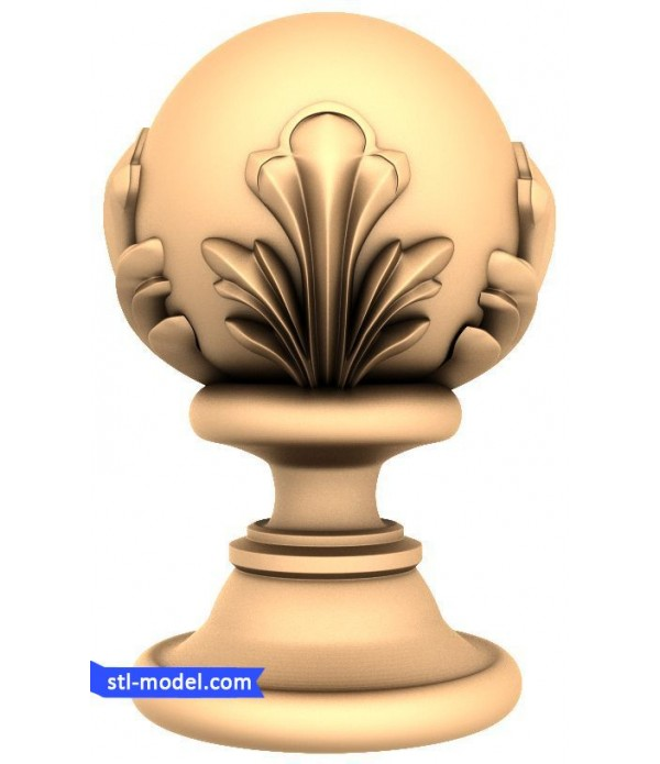 "Baluster ""Balusterl #186"" | STL - 3D model for CNC"