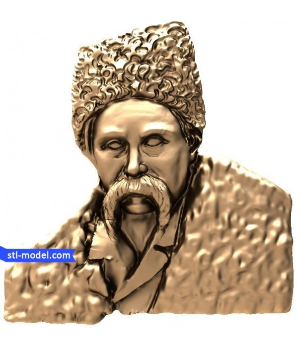 "Bas-relief ""Taras Shevchenko #1"" 