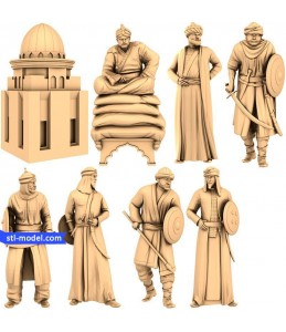 "Chess set ""Arabs"" 