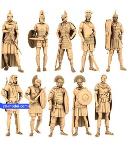 "Chess set ""Romans"" 