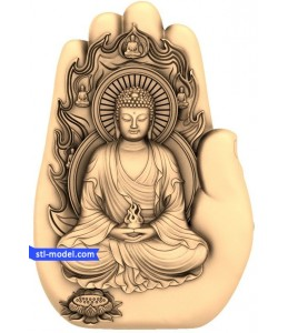 Buddha in the palm of your hand