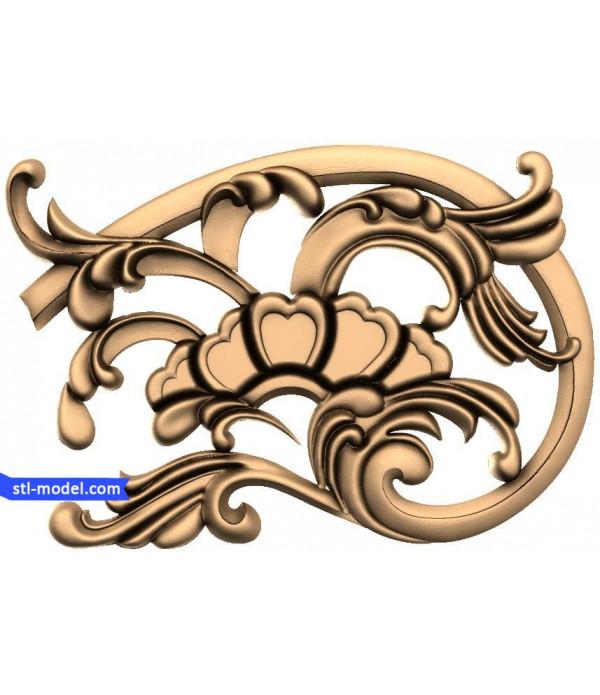 "Decor ""decor #22"" | STL - 3D model for CNC"