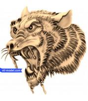 Wolf head (6)