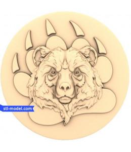 "Character ""bear's Head"" | STL ..."