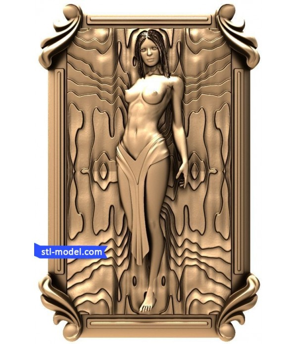 "Bas-relief ""Girl #3"" 