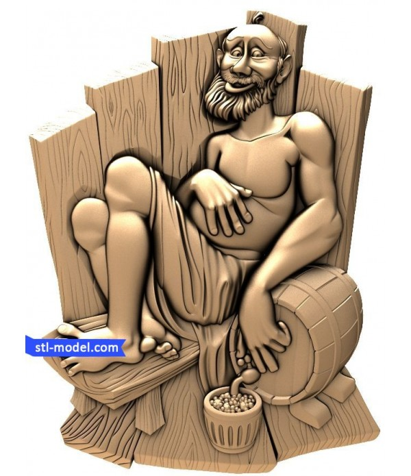 "Bath ""Bath #1"" | STL - 3D model for CNC"