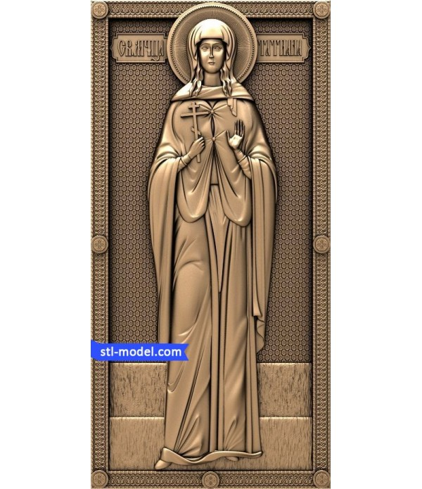 "Icon ""Saint Tatiana"" 