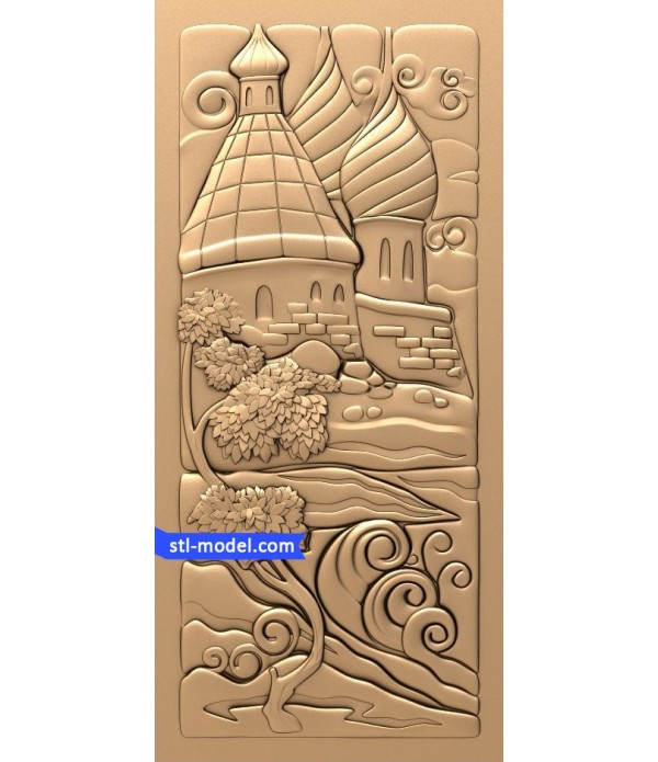 "Bas-relief ""fairy Tale #3"" 
