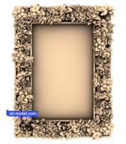 "Frame ""Frame #542"" | STL - 3D model for CNC"