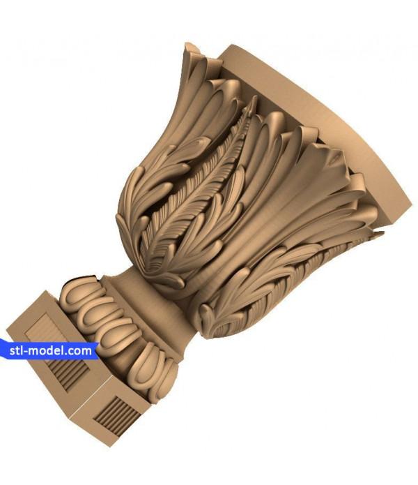 "Corbel ""Corbel #52"" | STL - 3D model for CNC"
