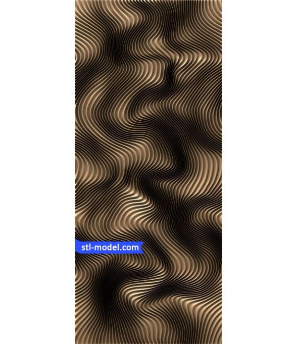 "Panel ""Panel #33""   STL - 3D model for CNC"