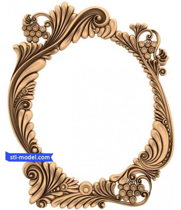"Frame ""Frame #180"" | STL - 3D model for CNC"