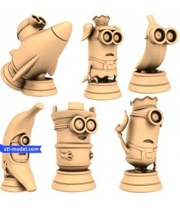 "Chess set ""Minions"" 