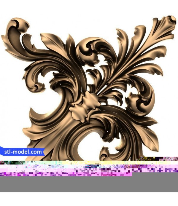 "Decor ""decor #195"" | STL - 3D model for CNC"