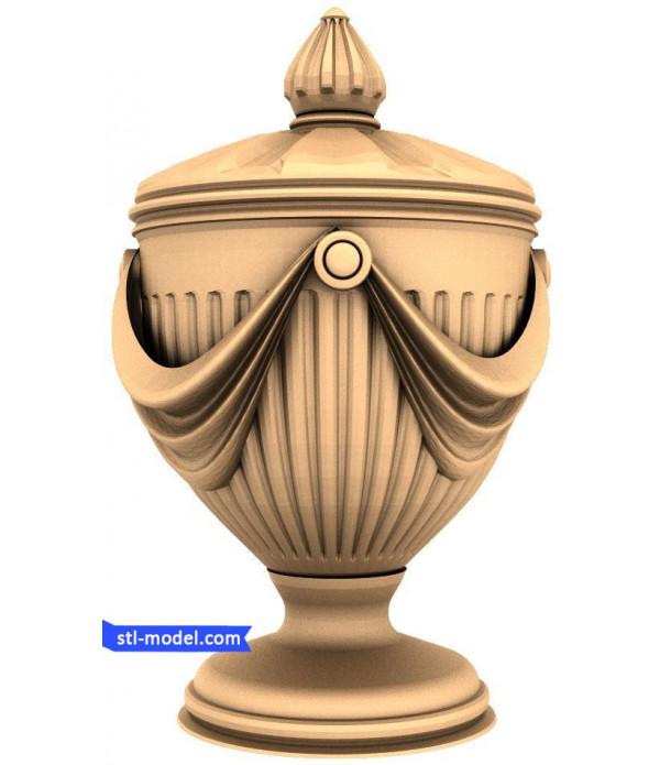 "Baluster ""Balusterl #246"" | STL - 3D model for CNC"