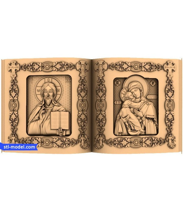 "Icon ""Diptych book"" 