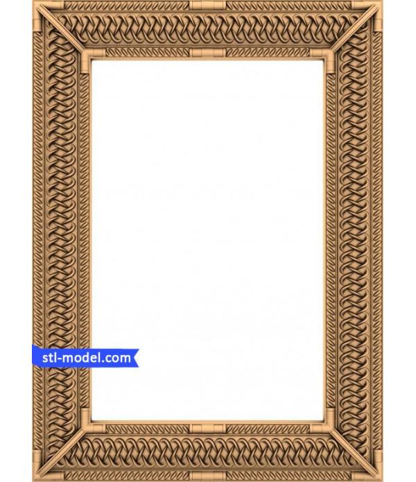 "Frame ""Frame #134"" | STL - 3D model for CNC"