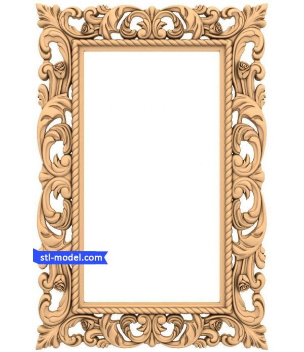 "Frame ""Frame #19"" | STL - 3D model for CNC"
