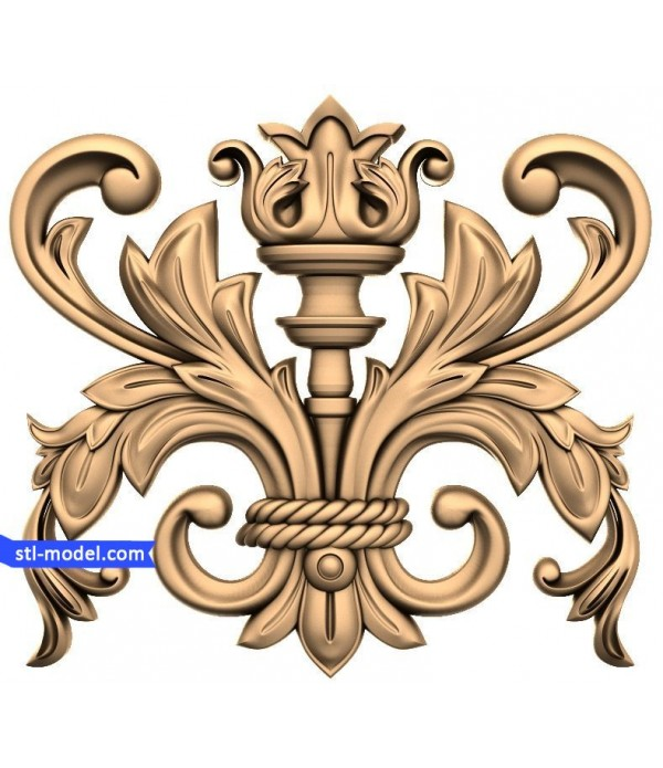 "Decor ""decor #28"" | STL - 3D model for CNC"