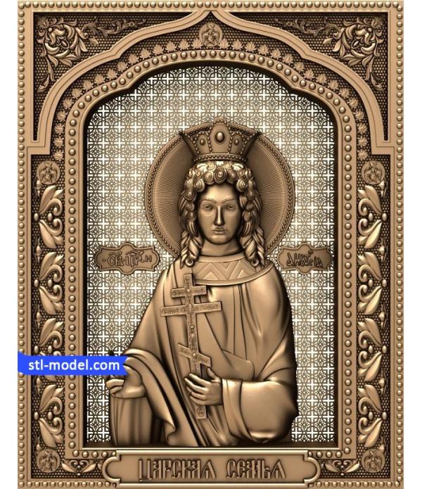"Icon ""Princess Anastasia"" | STL - 3D model for CNC"