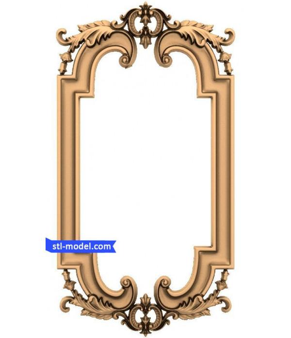 "Frame ""Frame #145"" | STL - 3D model for CNC"