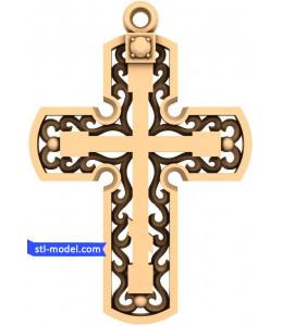 "Cross ""Cross #24"" | STL - 3D m..."