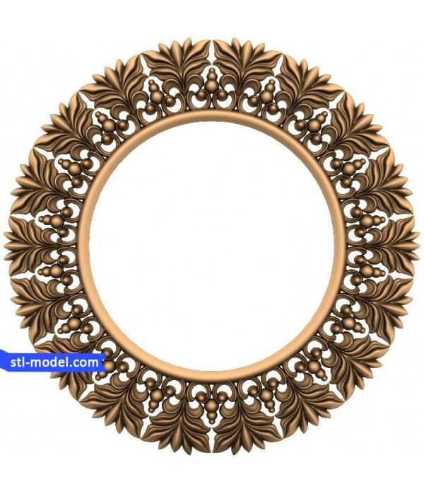"Frame ""Frame #116"" | STL - 3D model for CNC"