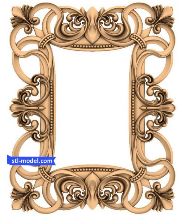 "Frame ""Frame #179"" | STL - 3D model for CNC"